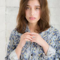 ニュアンス 大人女子 こなれ感 ミディアム ヘアスタイルや髪型の写真・画像