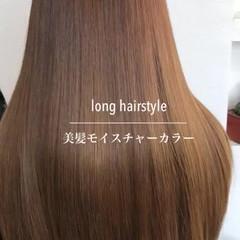 ヘアカラー 髪質改善 美髪 ロング ヘアスタイルや髪型の写真・画像