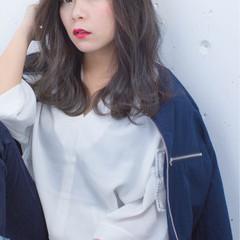 外国人風 ニュアンス ハイライト ストリート ヘアスタイルや髪型の写真・画像