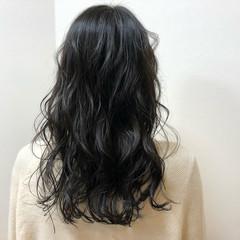 エレガント 外国人風 愛され セミロング ヘアスタイルや髪型の写真・画像
