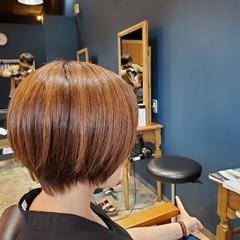 ナチュラル 小顔ヘア ベリーショート ショートヘア ヘアスタイルや髪型の写真・画像