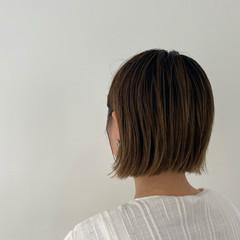 切りっぱなしボブ ミニボブ ショートヘア ショートボブ ヘアスタイルや髪型の写真・画像