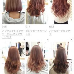 ハイトーン 外国人風 ヘアアレンジ ロング ヘアスタイルや髪型の写真・画像
