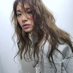 グラデーションカラー 大人かわいい 外国人風 ハイライト ヘアスタイルや髪型の写真・画像