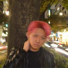 ヘアアレンジ ショート ストリート 外国人風 ヘアスタイルや髪型の写真・画像