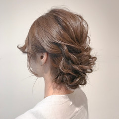 簡単ヘアアレンジ デート ロング 成人式 ヘアスタイルや髪型の写真・画像