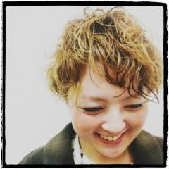 ガーリー 卵型 ナチュラル ストリート ヘアスタイルや髪型の写真・画像
