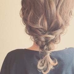 フェミニン 大人かわいい 結婚式 ゆるふわ ヘアスタイルや髪型の写真・画像