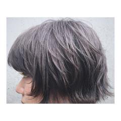梅雨 雨の日 インナーカラー ハイライト ヘアスタイルや髪型の写真・画像