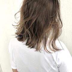 ハイライト ボブ ナチュラル インナーカラー ヘアスタイルや髪型の写真・画像
