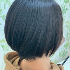 ナチュラル ボブ ショートヘア ヘアスタイルや髪型の写真・画像
