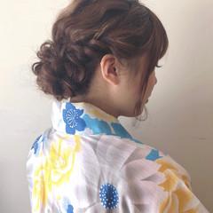結婚式 成人式 夏 和装 ヘアスタイルや髪型の写真・画像