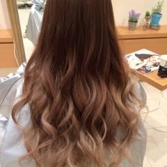 モード グラデーションカラー 外国人風カラー 暗髪 ヘアスタイルや髪型の写真・画像