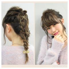 ゆるふわ 大人女子 ヘアアレンジ くるりんぱ ヘアスタイルや髪型の写真・画像