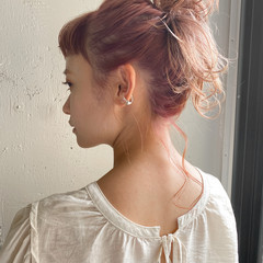 アンニュイほつれヘア パーティー 大人かわいい 結婚式 ヘアスタイルや髪型の写真・画像