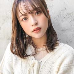ヨシンモリ 韓国ヘア ウルフカット ミディアム ヘアスタイルや髪型の写真・画像