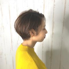 ショート ナチュラル ベリーショート ショートボブ ヘアスタイルや髪型の写真・画像