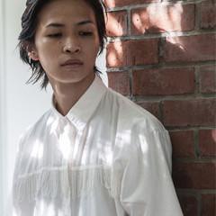 透明感 ハイライト ショート 秋 ヘアスタイルや髪型の写真・画像
