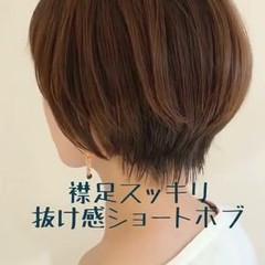 抜け感 秋 冬 モード ヘアスタイルや髪型の写真・画像