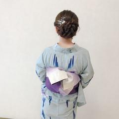 エレガント 結婚式 上品 ロング ヘアスタイルや髪型の写真・画像