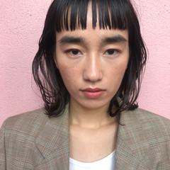 パーマ ボブ 外ハネ 抜け感 ヘアスタイルや髪型の写真・画像