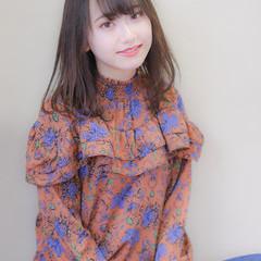 可愛い ゆるふわ ヘアアレンジ ナチュラル ヘアスタイルや髪型の写真・画像