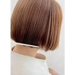 ボブ ナチュラル ショートボブ ショートヘア ヘアスタイルや髪型の写真・画像