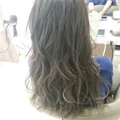 ロング エレガント カール 上品 ヘアスタイルや髪型の写真・画像