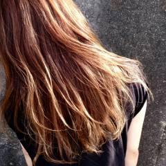 外国人風 グラデーションカラー ストリート 大人かわいい ヘアスタイルや髪型の写真・画像