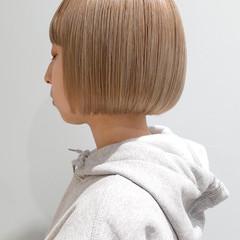 ボブ ショートボブ 前髪あり ミニボブ ヘアスタイルや髪型の写真・画像