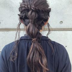 簡単ヘアアレンジ アンニュイほつれヘア 結婚式 成人式 ヘアスタイルや髪型の写真・画像