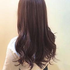 ピンクブラウン ピンクパープル コンサバ 外国人風カラー ヘアスタイルや髪型の写真・画像