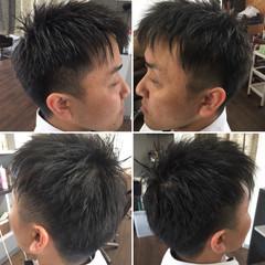 メンズスタイル メンズカット ストリート ショート ヘアスタイルや髪型の写真・画像