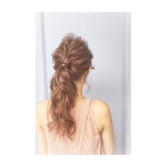 外国人風 簡単ヘアアレンジ ヘアアレンジ 大人かわいい ヘアスタイルや髪型の写真・画像
