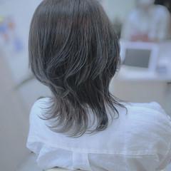 アッシュ アッシュグレージュ モード ショートヘア ヘアスタイルや髪型の写真・画像