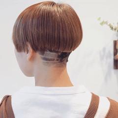 モード ツーブロック ショート 刈り上げショート ヘアスタイルや髪型の写真・画像
