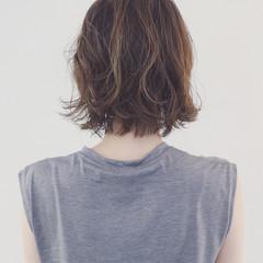 簡単 パーマ ストリート グラデーションカラー ヘアスタイルや髪型の写真・画像