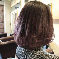 グラデーションカラー パープル 透明感 ストリート ヘアスタイルや髪型の写真・画像