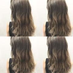 ハイライト 外国人風 暗髪 グラデーションカラー ヘアスタイルや髪型の写真・画像