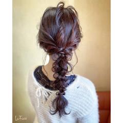 お呼ばれ エレガント 大人かわいい ロング ヘアスタイルや髪型の写真・画像