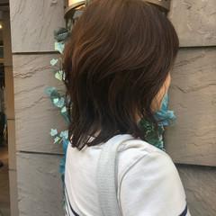 パーマ デジタルパーマ アッシュベージュ グラデーションカラー ヘアスタイルや髪型の写真・画像
