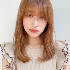 デジタルパーマ ナチュラル モテ髮シルエット アンニュイほつれヘア ヘアスタイルや髪型の写真・画像
