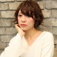 小顔 ショート 大人かわいい 色気 ヘアスタイルや髪型の写真・画像