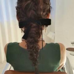 ゆるふわ モテ髪 ヘアアレンジ コンサバ ヘアスタイルや髪型の写真・画像