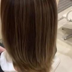 バレイヤージュ ブリーチ ダブルカラー ブリーチオンカラー ヘアスタイルや髪型の写真・画像