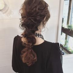 ロング 外国人風 ゆるふわ ハーフアップ ヘアスタイルや髪型の写真・画像