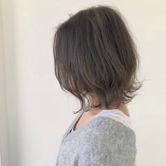 ミディアム ナチュラル バレンタイン ヘアアレンジ ヘアスタイルや髪型の写真・画像