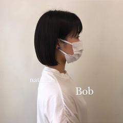 ミニボブ ショートボブ ニュアンスヘア ボブ ヘアスタイルや髪型の写真・画像