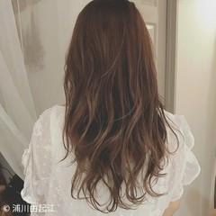 大人かわいい ハイライト 外国人風 ロング ヘアスタイルや髪型の写真・画像