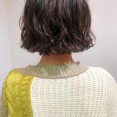 ショートヘア ショートボブ ボブ ナチュラル ヘアスタイルや髪型の写真・画像